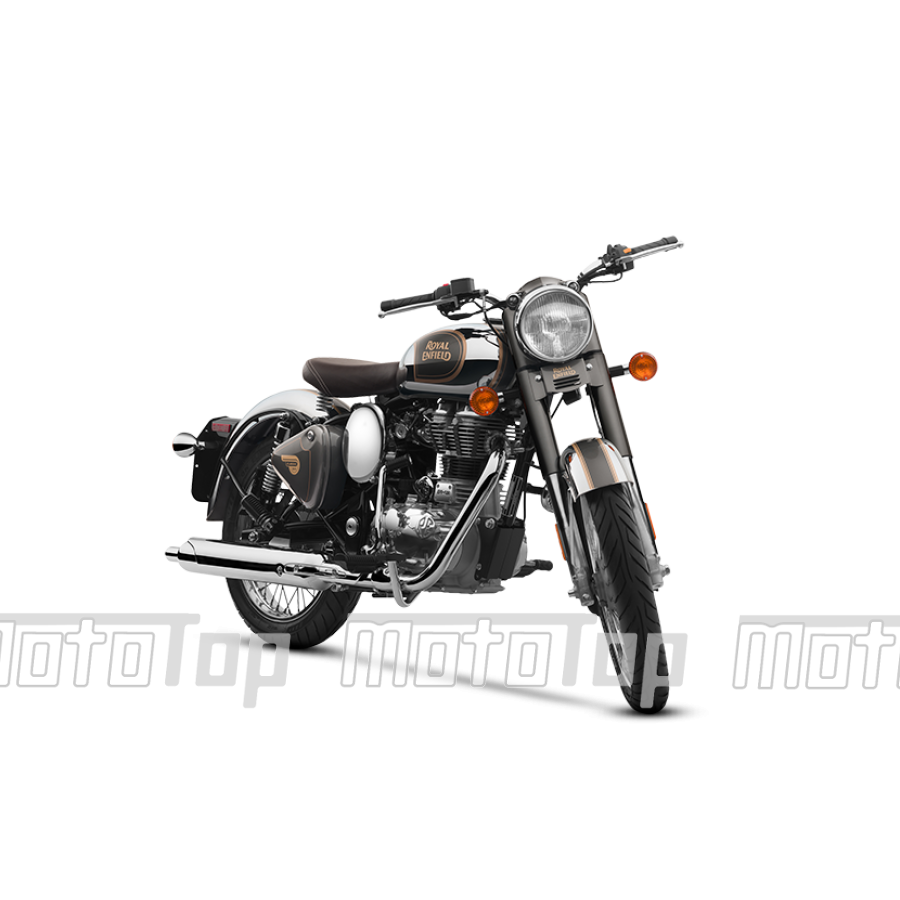 Motociklas Royal Enfield Classic 500 Chrome Graphite