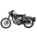 Royal Enfield Classic 500 EFI Chrome/Grau Euro 4/ABS