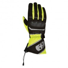 Gloves Touring gloves OXFORD MONTREAL 3.0 colour black/fluorescent, size L, XL