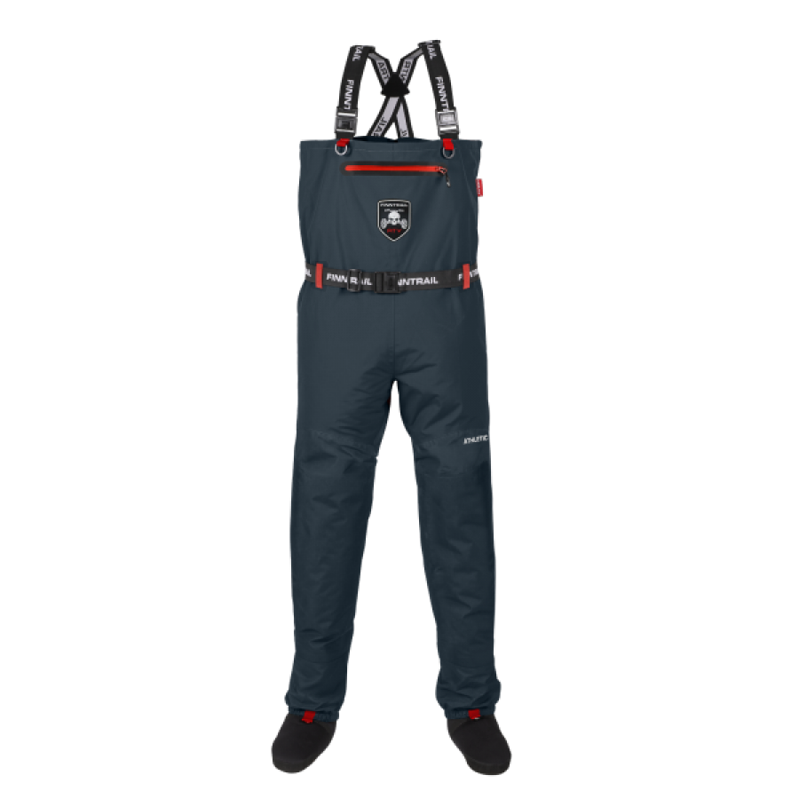 Kombinezoninės kelnės Finntrail Athletic Plus New Denim