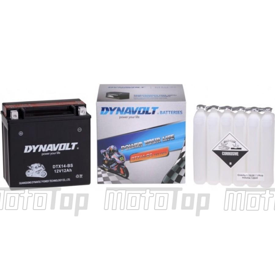 Akumuliatorius motociklui Dynavolt 270A 12Ah