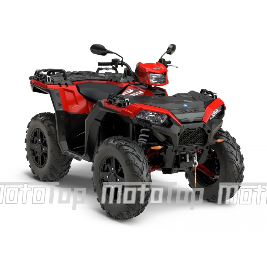 Polaris Sportsman XP 1000 EPS 4x4 raudonas. EURO 4