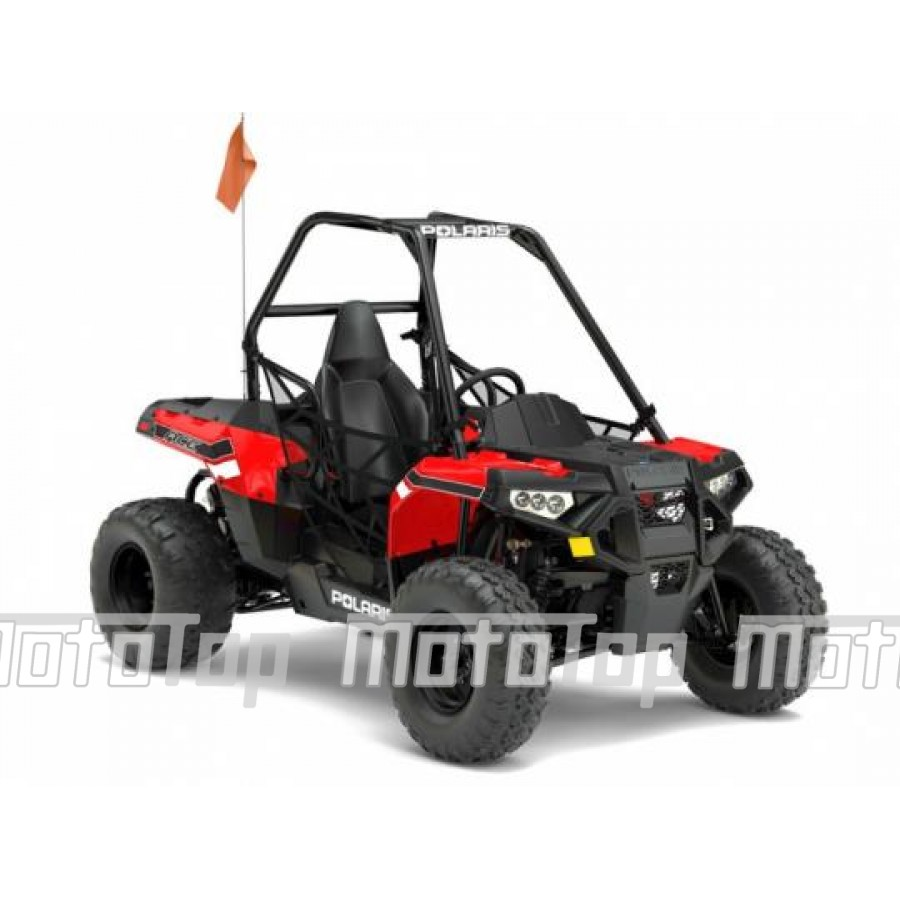Polaris ACE 150 EFI Indy Red Keturratis
