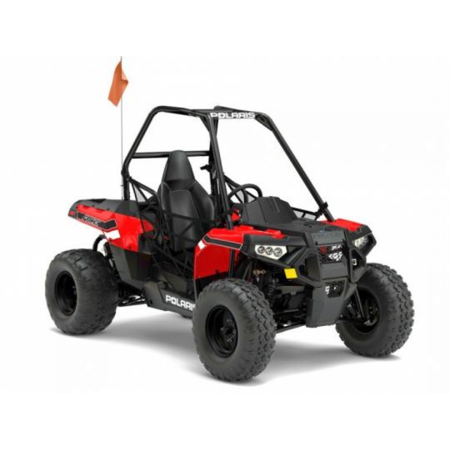 Polaris ACE 150 EFI Indy Red Keturratis