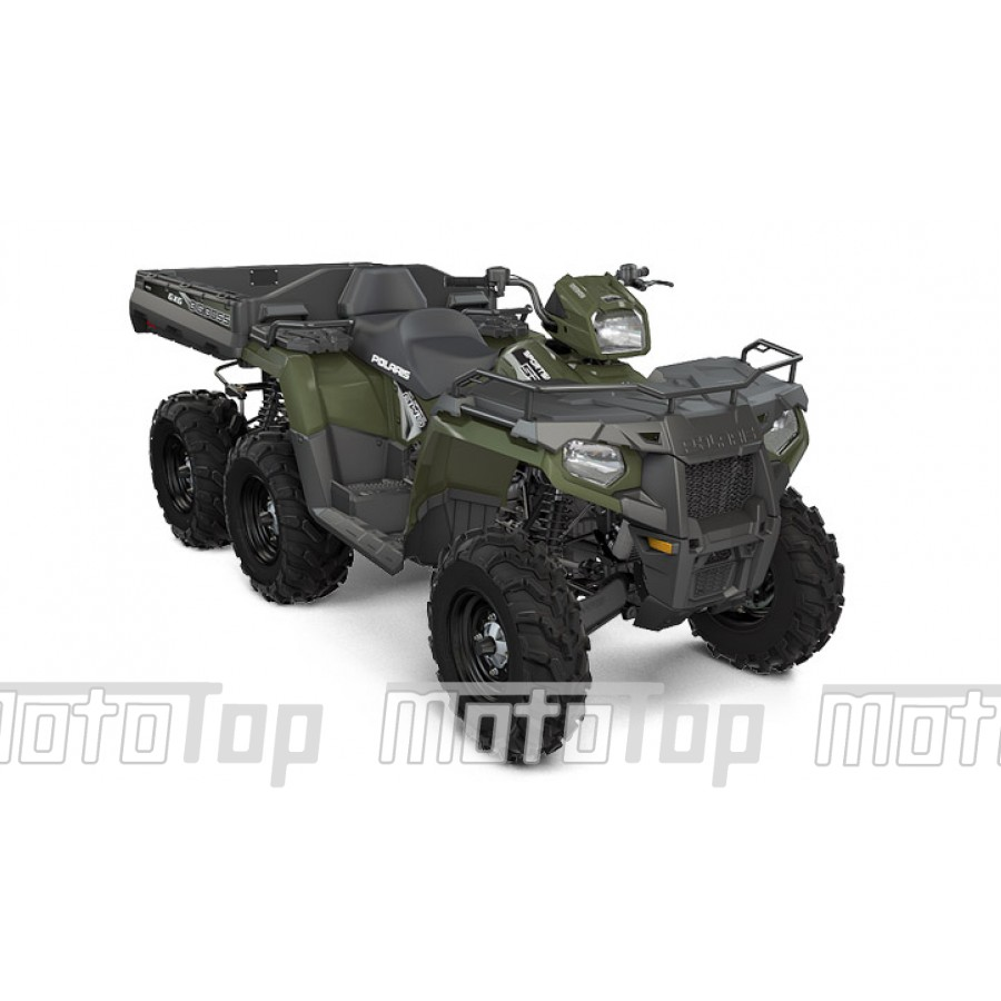 Polaris Sportsman 570 BIG BOSS EFI EPS 6x6 green T3 keturratis