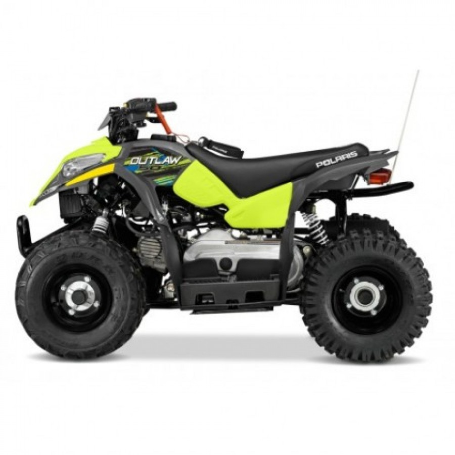 Polaris Outlaw 50 Lime Squueze keturratis