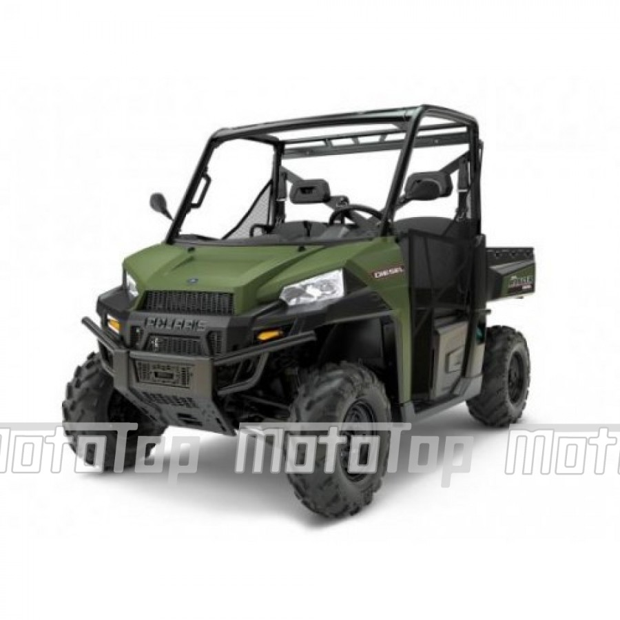 Polaris Ranger 1000 Diesel HD EPS 4x4 Green 60km/h. T1b keturratis