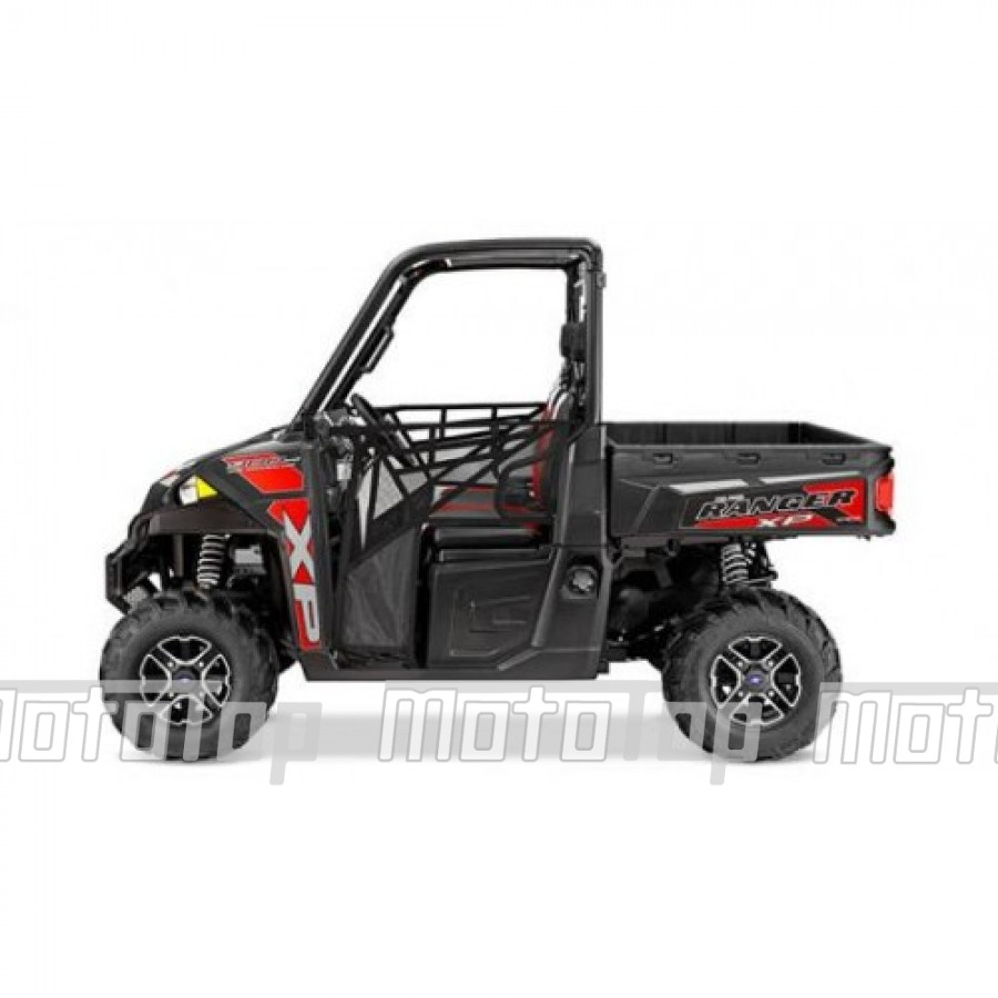 Polaris Ranger XP 900 EPS 4x4 Le Black 40km/h. T1 keturratis