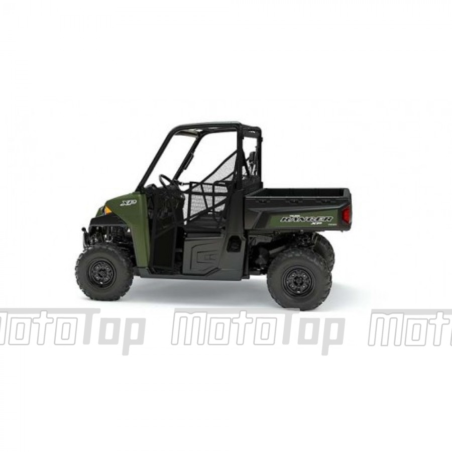 Polaris Ranger XP 900 EPS 4x4 Green 40km/h. T1 keturratis