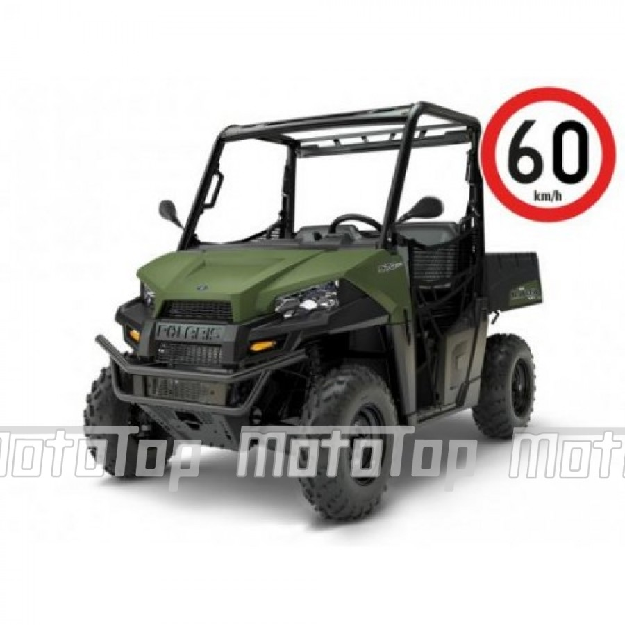 Polaris Ranger 570 EFI EPS 4x4 Green 60km/h. T1b keturratis