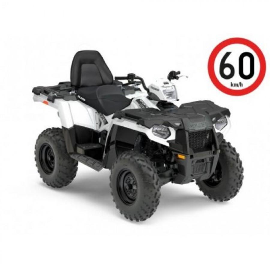 Polaris Sportsman 570 EFI EPS Tour 4x4 white 60km/h. T3b keturratis