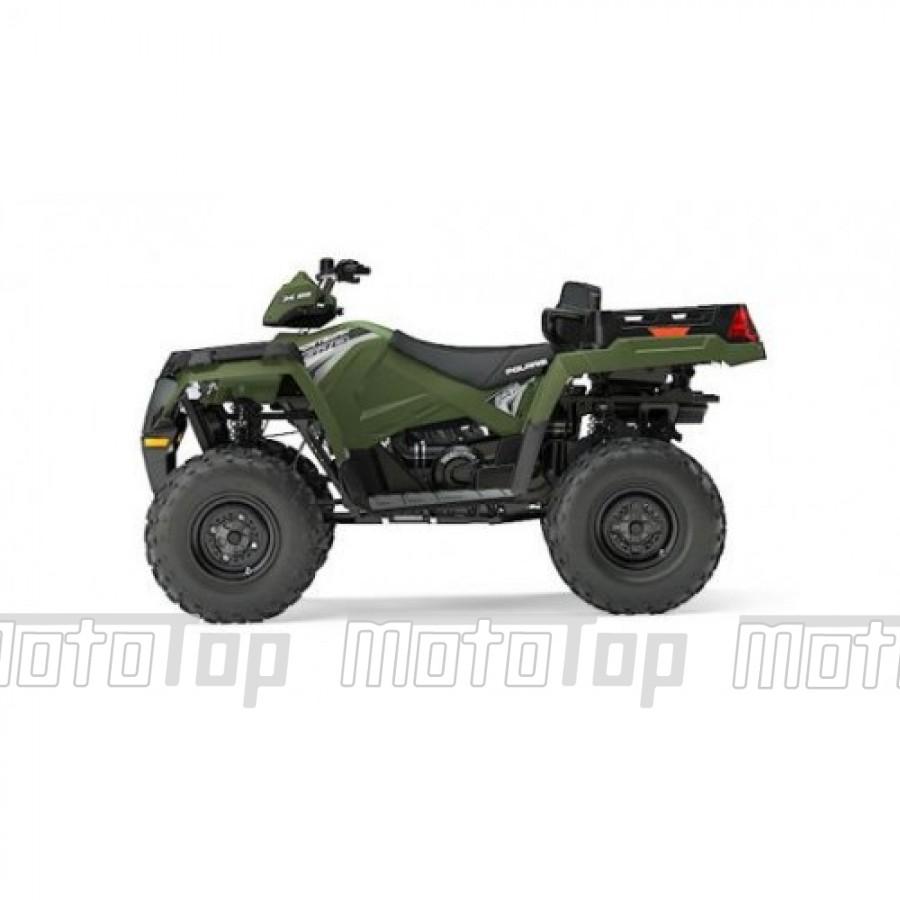 Polaris Sportsman 570 EFI EPS X2 4x4 green 60km/h. T3b keturratis