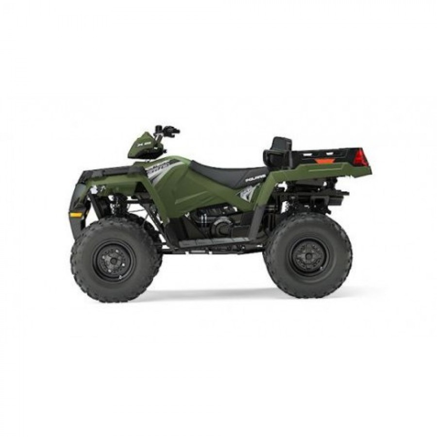Polaris Sportsman 570 EFI EPS X2 4x4 green 60km/h. T3b keturratis