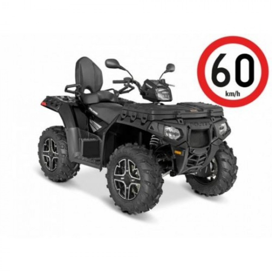Polaris Sportsman XP 1000 EPS 4x4 Tour black 60km/h. keturratis