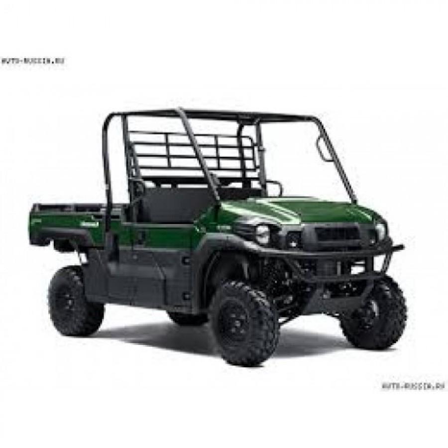 Kawasaki Mule PRO DX1000 DIESEL keturratis (mini traktorius)