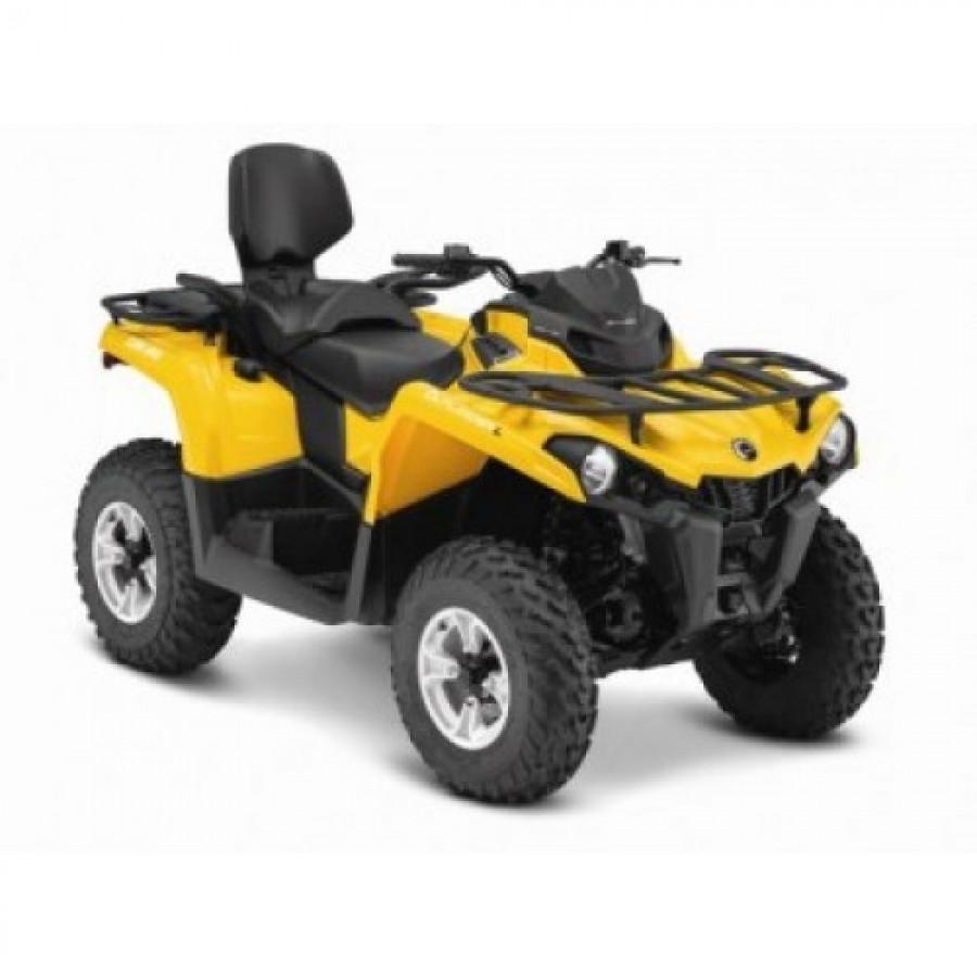 Outlander L 450 MAX DPS EC keturratis (mini traktorius)