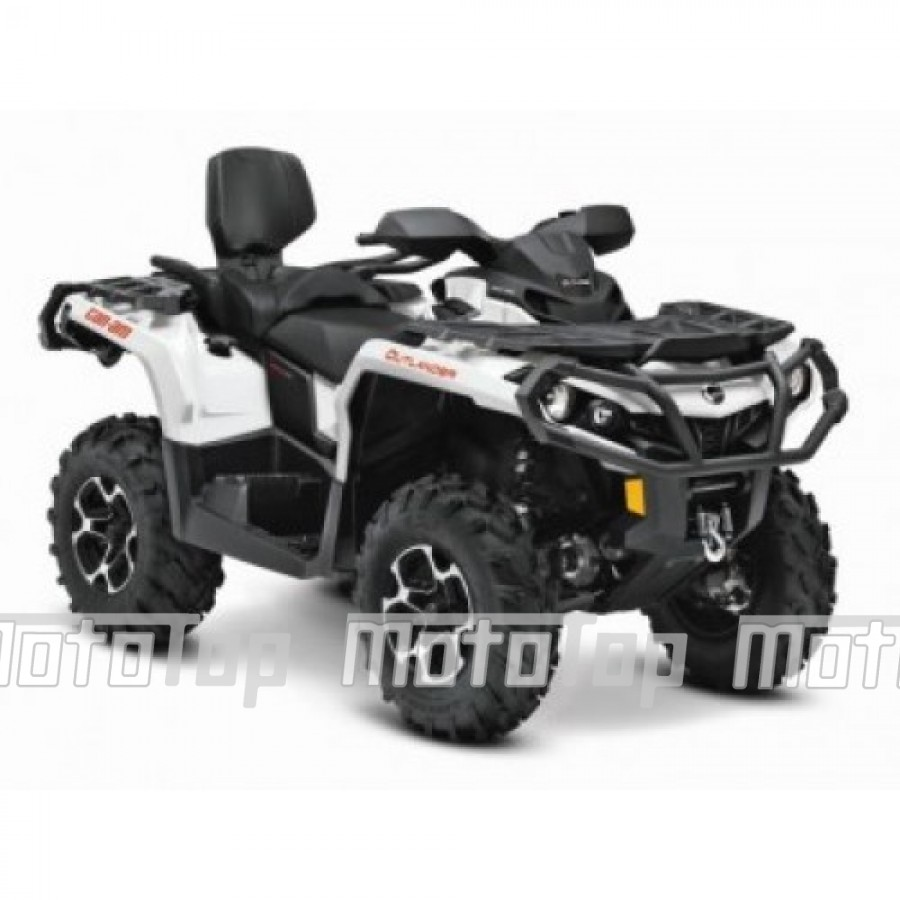 Can-Am Outlander 850 MAX XT EC keturratis (mini traktorius)