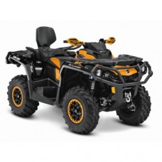 Can-Am Outlander 650 MAX XT-P EC keturratis (mini traktorius)