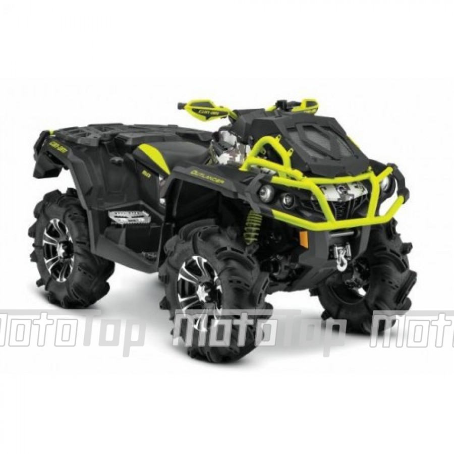 CAN AM Outlander 1000R X-mr DC keturratis (mini traktorius)