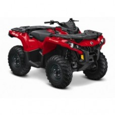 CAN-AM Outlander 650 DPS EC keturratis (mini traktorius)