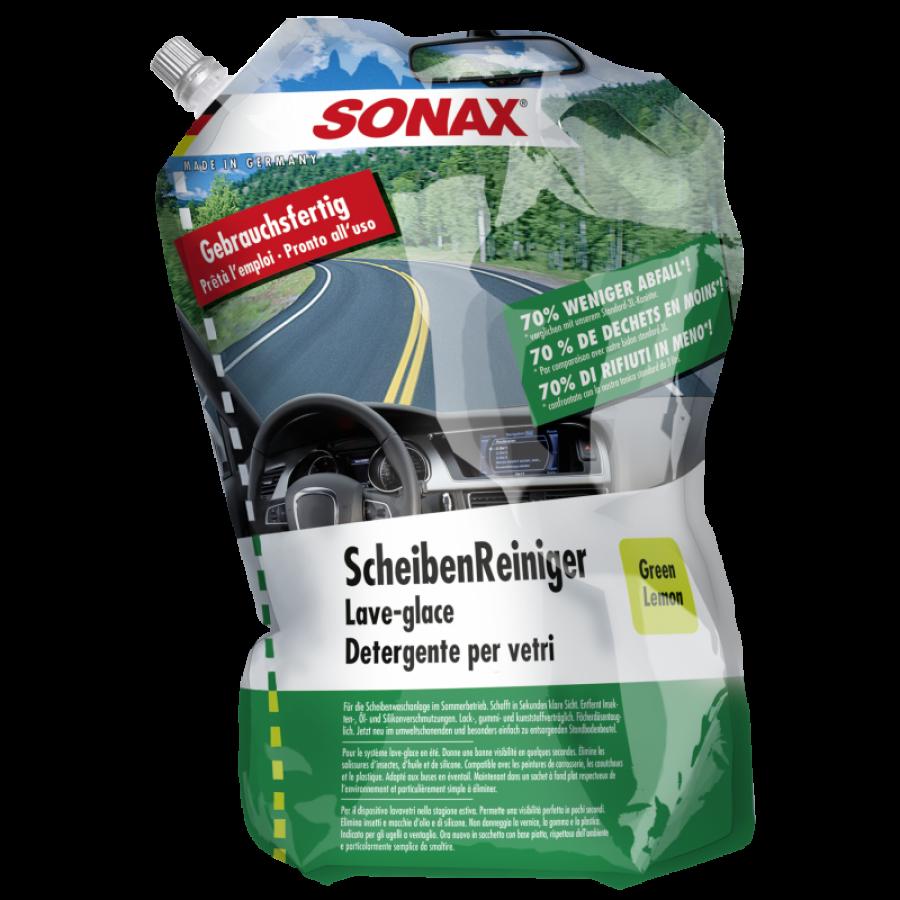 SONAX Paruoštas naudoti vasarinis langų apiplovimo skystis (386441) 3L