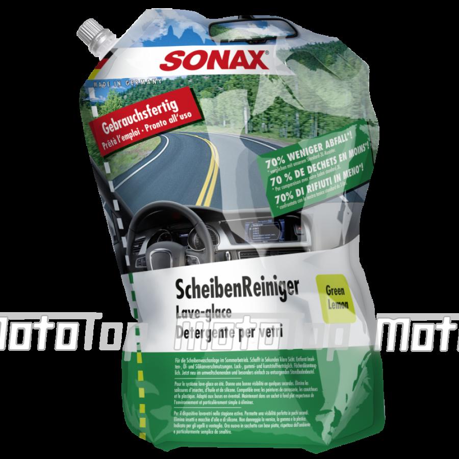SONAX Paruoštas naudoti vasarinis langų apiplovimo skystis (386441) 3L mototop